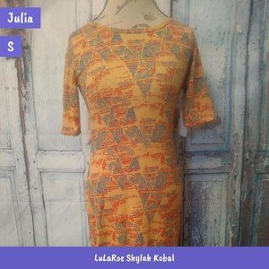 S LuLaRoe Julia Dress